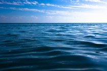 Welliges Meerwasser — Stockfoto