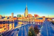 Distretto finanziario di Nashville, Tennessee — Foto stock