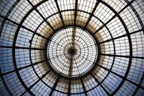 Glass cupola at Galleria Vittorio Emanuele — Stockfoto