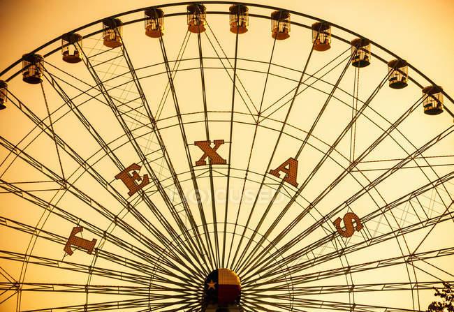Grande roue en parc d'attractions Texas — Photo de stock