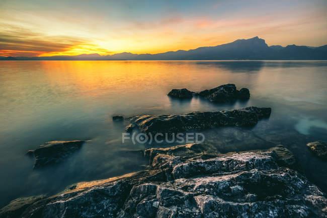 Lake Garda, Trentino — Stock Photo