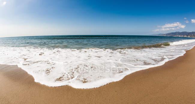 Пляж Санта-Моники — стоковое фото