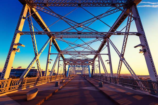 Ponte di Shelby Avenue — Foto stock