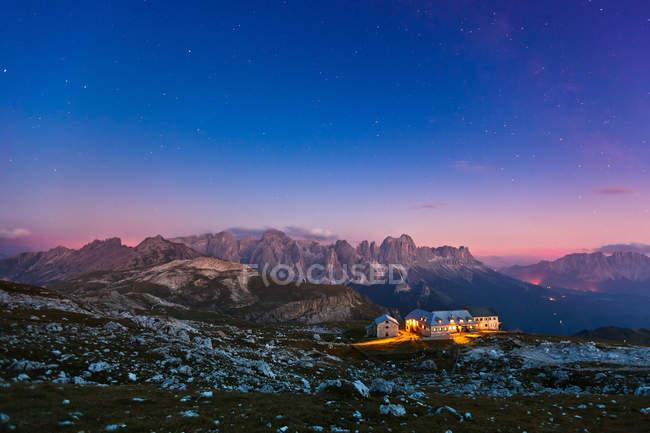 Paysage de montagne, Trentin, Italie — Photo de stock