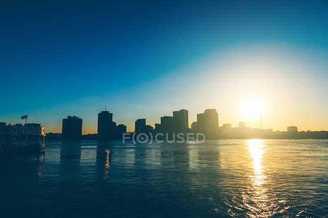Il paesaggio urbano di New Orleans — Foto stock