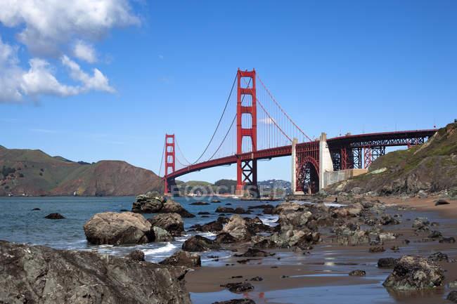 Goldene Torbrücke — Stockfoto