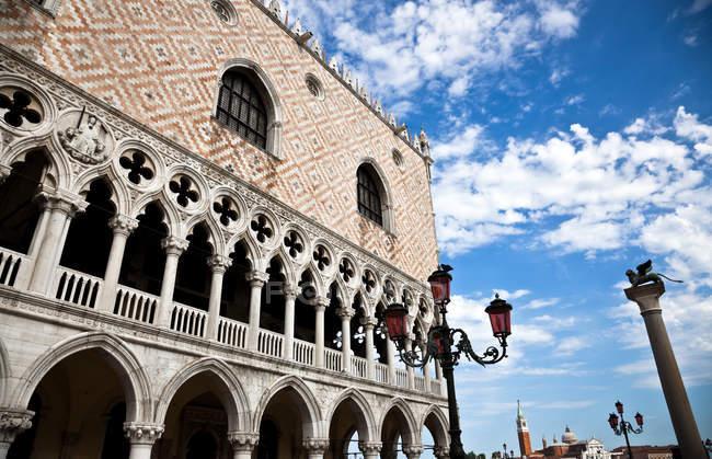 Palazzo Ducale, quartiere San Marco , — Foto stock