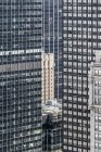 Full frame view of skyscrapers facades wtih windows — Stock Photo