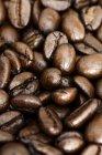 Colpo di telaio completo di caffè in grani — Foto stock