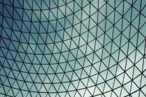 Повний кадр постріл скляною стелею купол — стокове фото