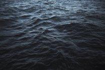 Полный кадр выстрел рифленая морской поверхности — стоковое фото