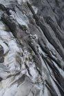 Прямо над видом на брезент на скале, Gletsch Wallis, Швейцария — стоковое фото