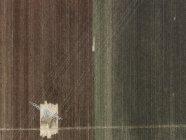 Luftaufnahme eines Strommasten im landwirtschaftlichen Gefälle — Stockfoto