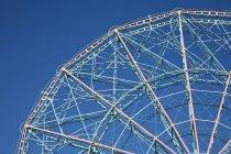 Blick auf das Riesenrad vor blauem Himmel — Stockfoto