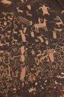 Chiuda sulla vista di antichi dipinti su roccia — Foto stock