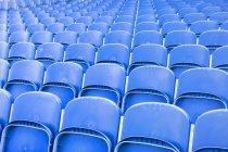 Full frame shot of stadium seating — Stock Photo