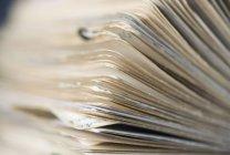 Крупним планом подання файлу Ротаційна картка — стокове фото