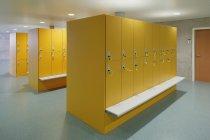 Vista interior do vestiário vazio — Fotografia de Stock