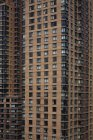 Full frame shot of  high rise-building facades — Stock Photo