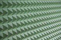 Полный кадр выстрел геометрический Зеленый рисунок — стоковое фото