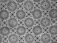 Vista de marco completo del suelo de baldosas con dibujos - foto de stock