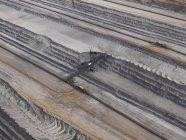 Vista aerea miniera di lignite, Gartzweiler, Renania Settentrionale-Vestfalia, Germania — Foto stock