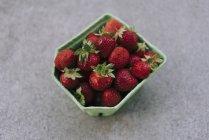 Frische, Reife rote Erdbeeren — Stockfoto