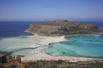 Vista panoramica sulla spiaggia di Balos, Creta, Grecia — Foto stock