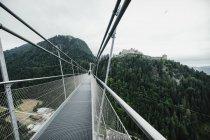 Хайлайн 179 підвісний міст над тристільниці, Тіроль, Австрія — стокове фото