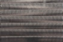 Textured metal pattern background — Stock Photo