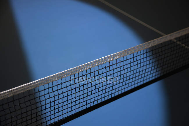 Close up view of tennis court net — Stock Photo