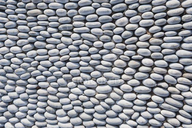 Arranjo de pedras do seixo liso — Fotografia de Stock