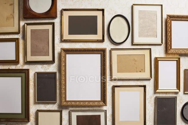 Captura de fotograma completo de marcos vacíos - foto de stock