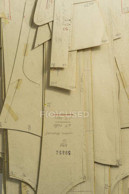 Повний кадр постріл моди зразки шаблонів — стокове фото