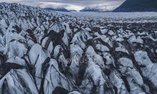 Idyllic shot of glacier landscape, Knik Glacier, Palmer, Alaska, USA — Stock Photo