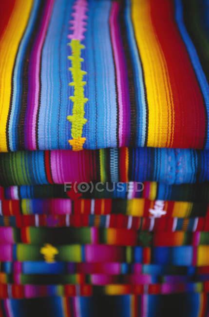 Купу складеному смугастий майя Шалі — стокове фото