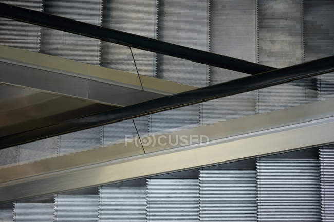 Повний кадр постріл порожній ескалаторів — стокове фото