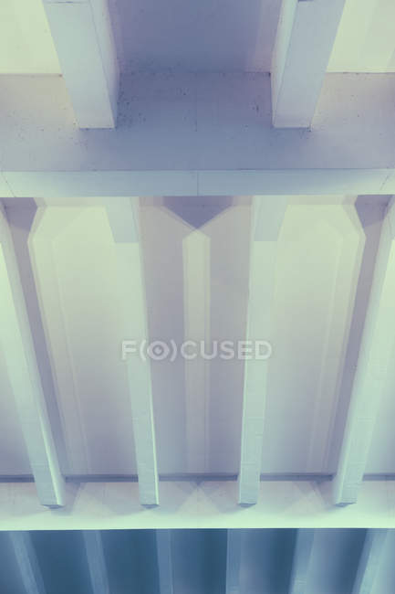 High angle view of modern building ceiling — Stock Photo