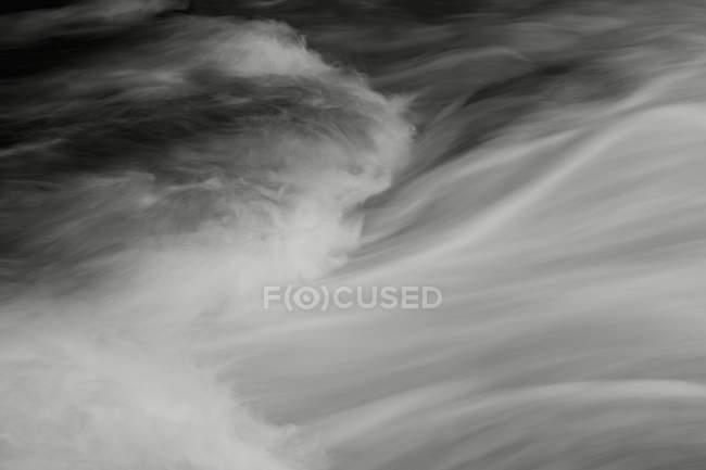 Полный кадр абстрактных моделей водных порогов — стоковое фото