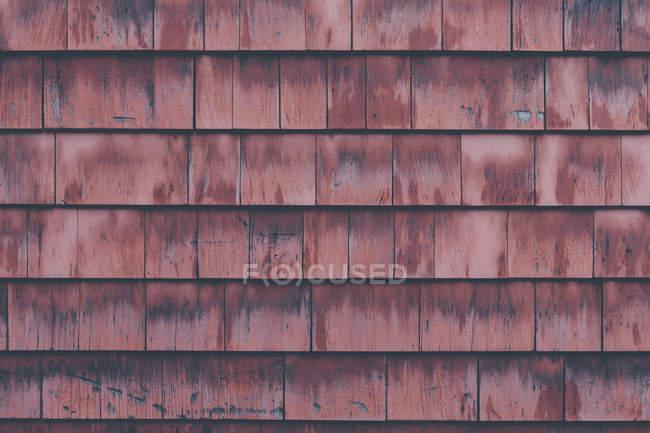 Полный кадр деревянной стены — стоковое фото