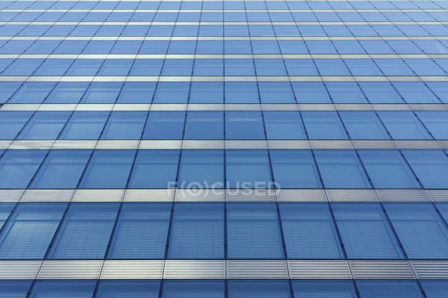 Full frame shot of modern office building — Stock Photo