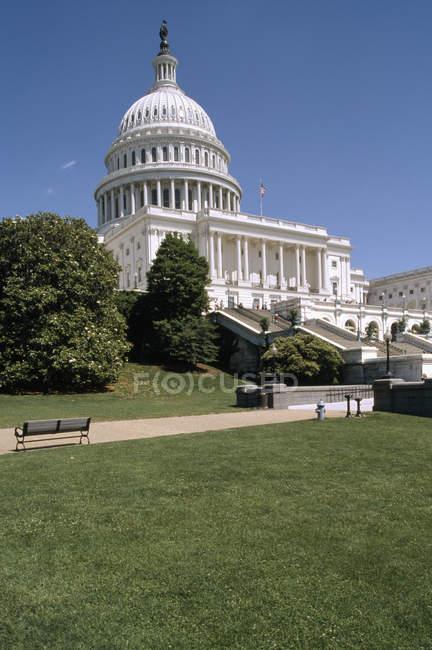 Зовнішній вигляд нас будівлі Капітолію, Вашингтон, округ Колумбія, — стокове фото