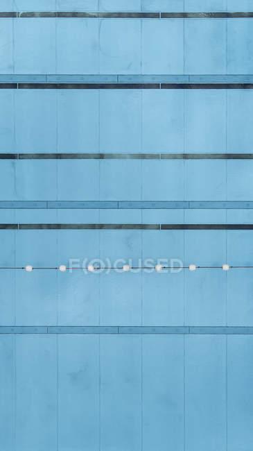 Directamente sobre la vista de la piscina - foto de stock