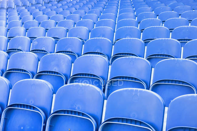 Full frame shot of stadium seating — Stock Photo