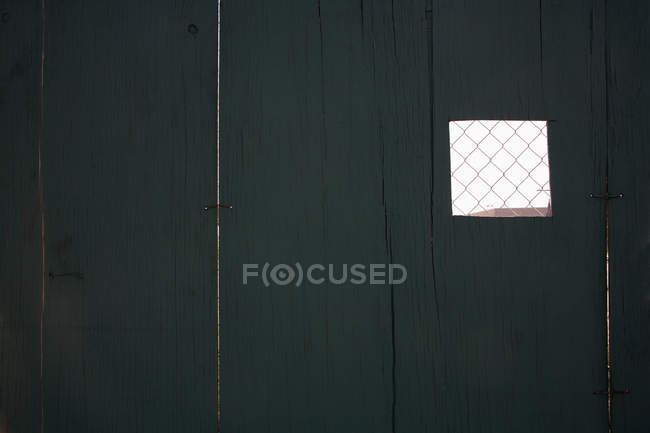 Small wire mesh section of fence — Stock Photo