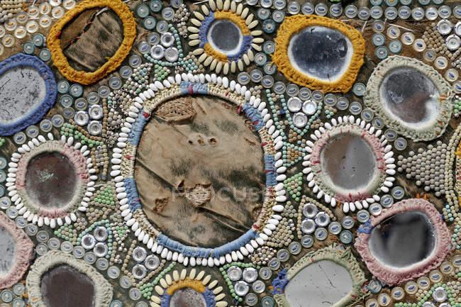 Украшенный арабеск с вышитым вуалем — стоковое фото
