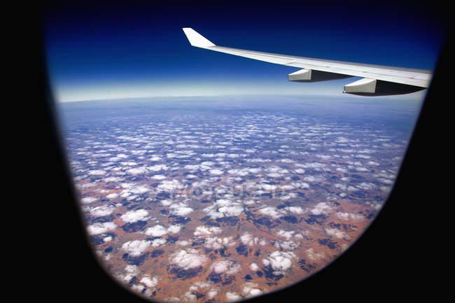 Paisagem nublada sobre Pilbara paisagem — Fotografia de Stock