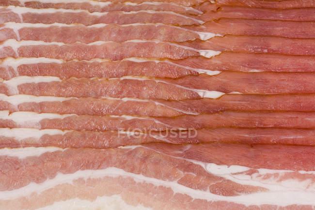 Colpo di telaio completo di strisce di pancetta — Foto stock