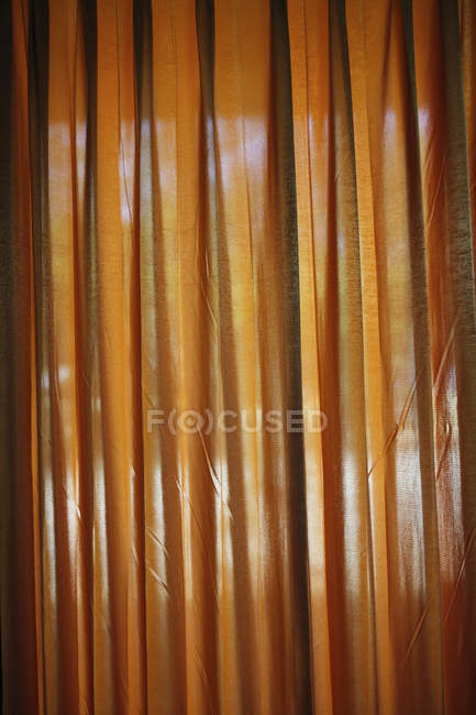Looking through a curtain during daytime — Stock Photo