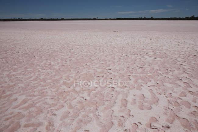 Malerische Landschaftsblick zum See Salz — Stockfoto